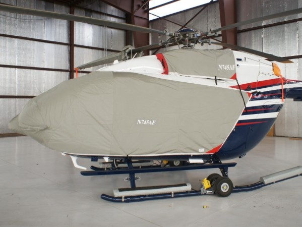 EC-145 Bubble cover & Upper Deck Engine Inlet cover: