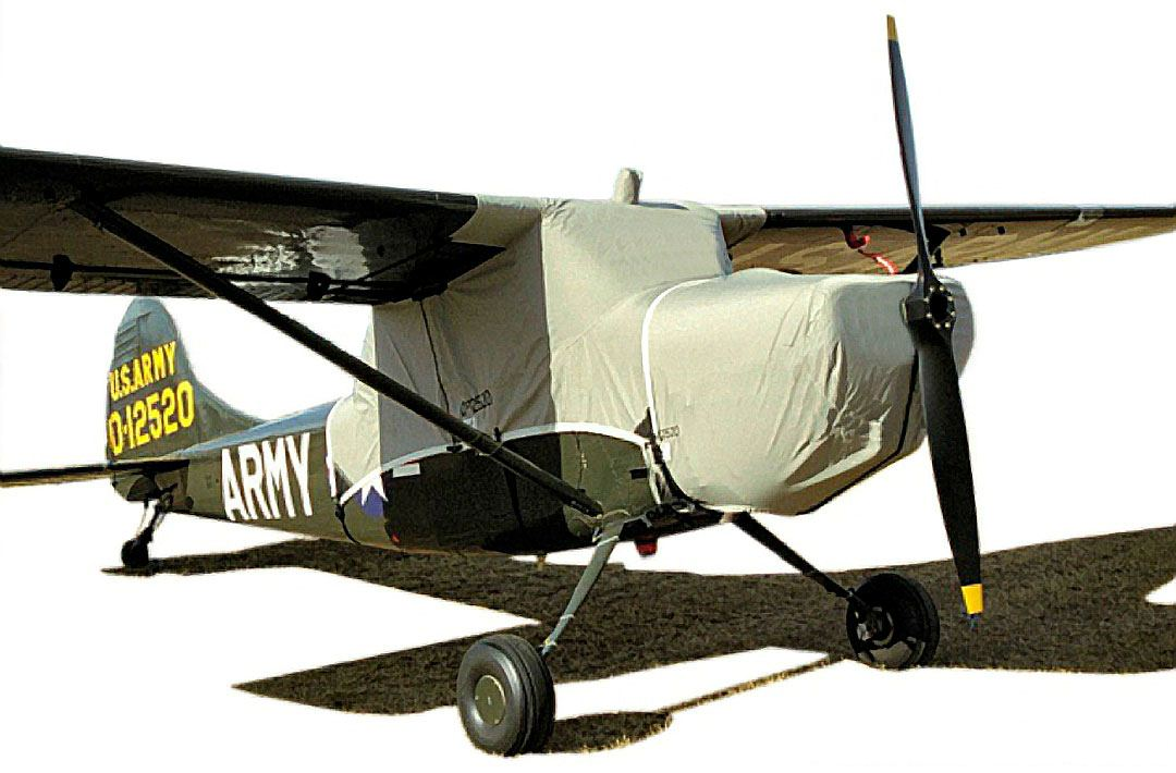 Cessna L-19 Canopy & Engine Covers (similar to Siai Marchetti 1019)