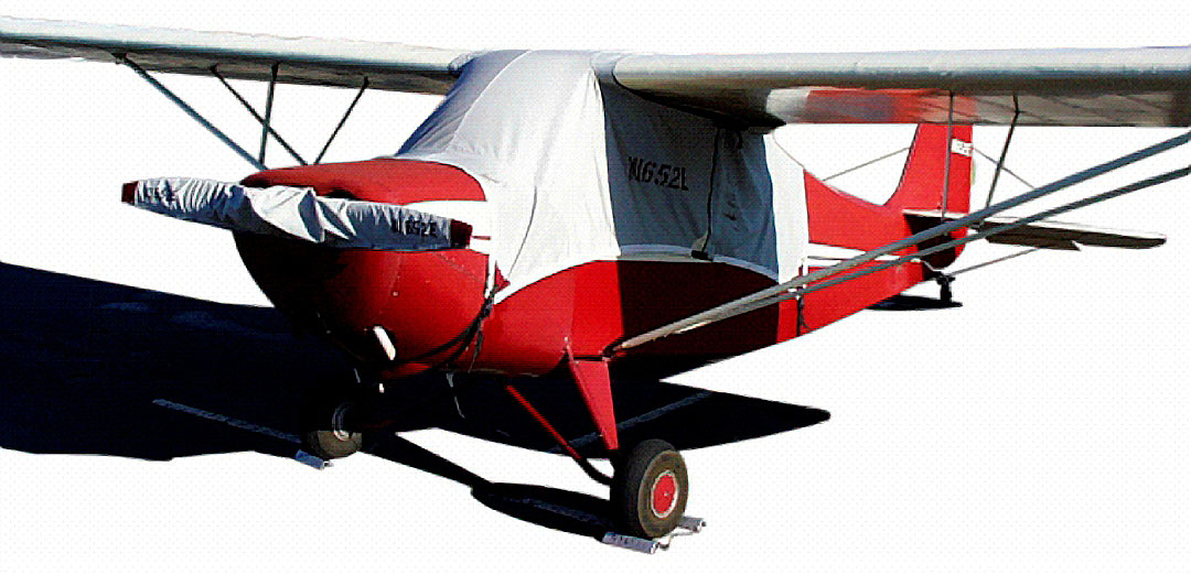 Aeronca Sedan Canopy & Prop Covers are similar to those shown here on the Champ