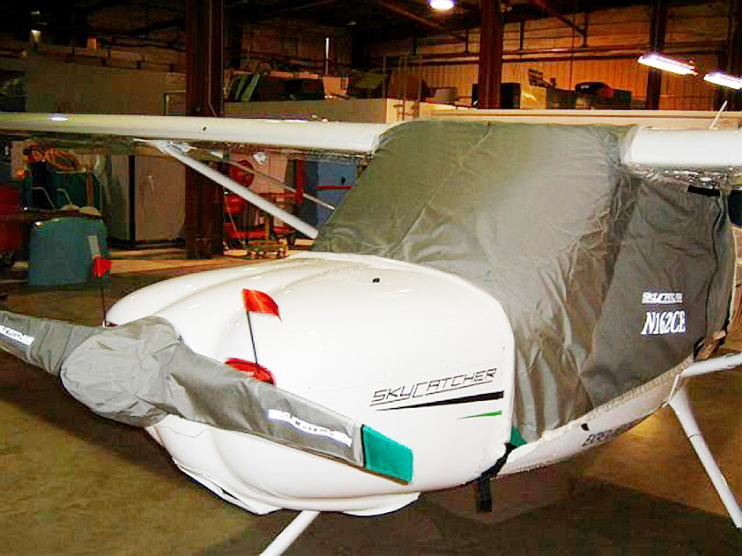 Skycatcher Standard Canopy Cover, Propellor Cover & Engine Inlet Plugs
