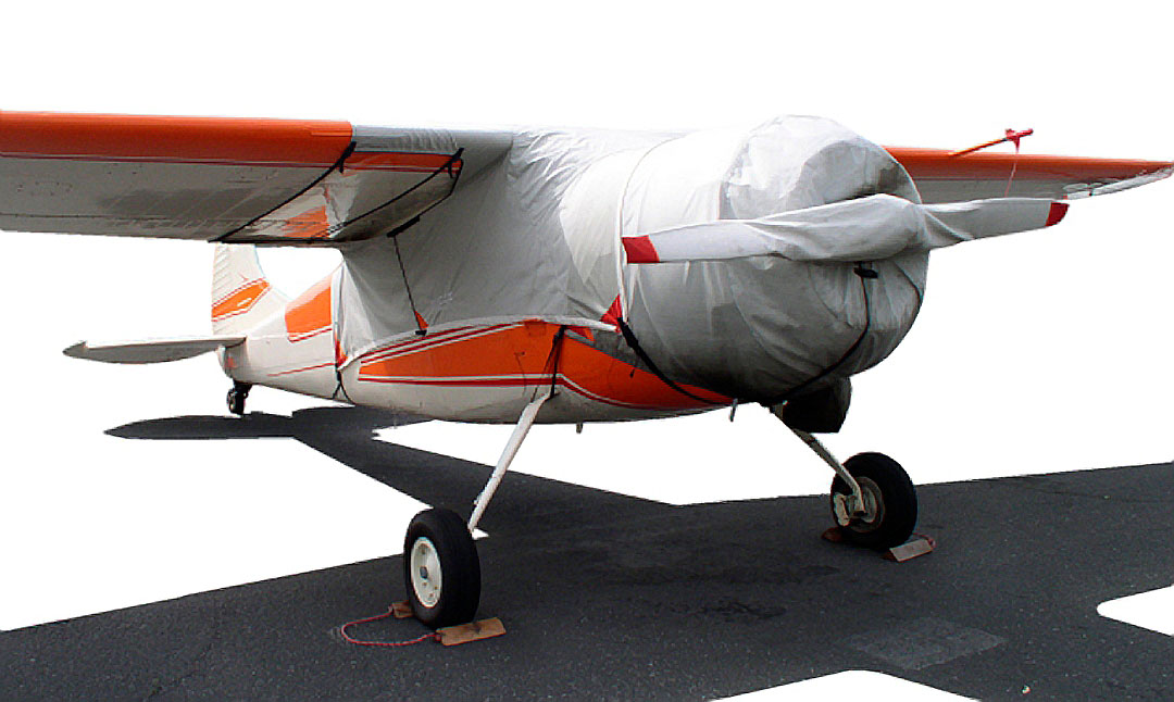 Cessna 195 Over-Top Canopy, Engine & Prop Covers