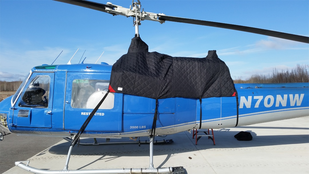 Bell 204 Insulated Engine Area Cover