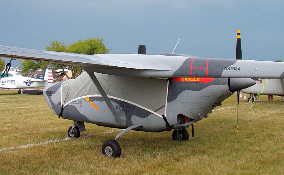 Cessna 337 Skymaster (O-2, O-2A): Covers, Plugs, etc