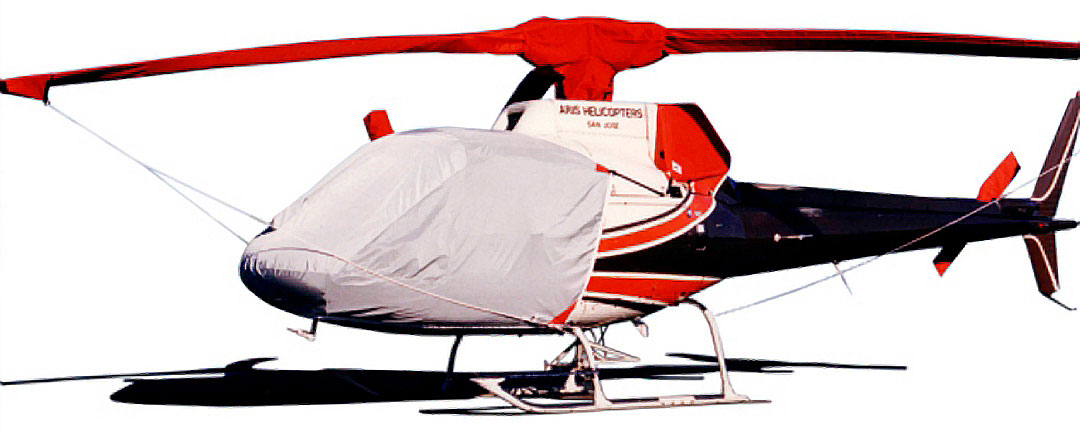 Bubble Cover, Intake/Exhaust, Rotor Mast, Tail Rotor & Main Body Covers