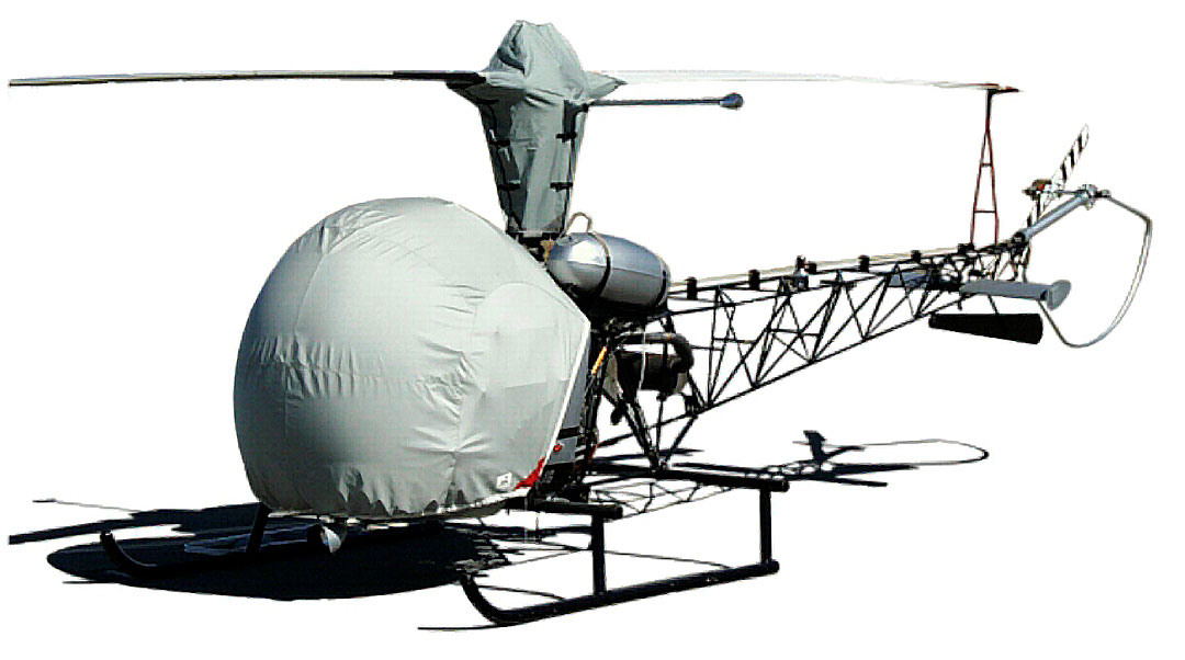 Bubble and Main Rotor Mast Covers