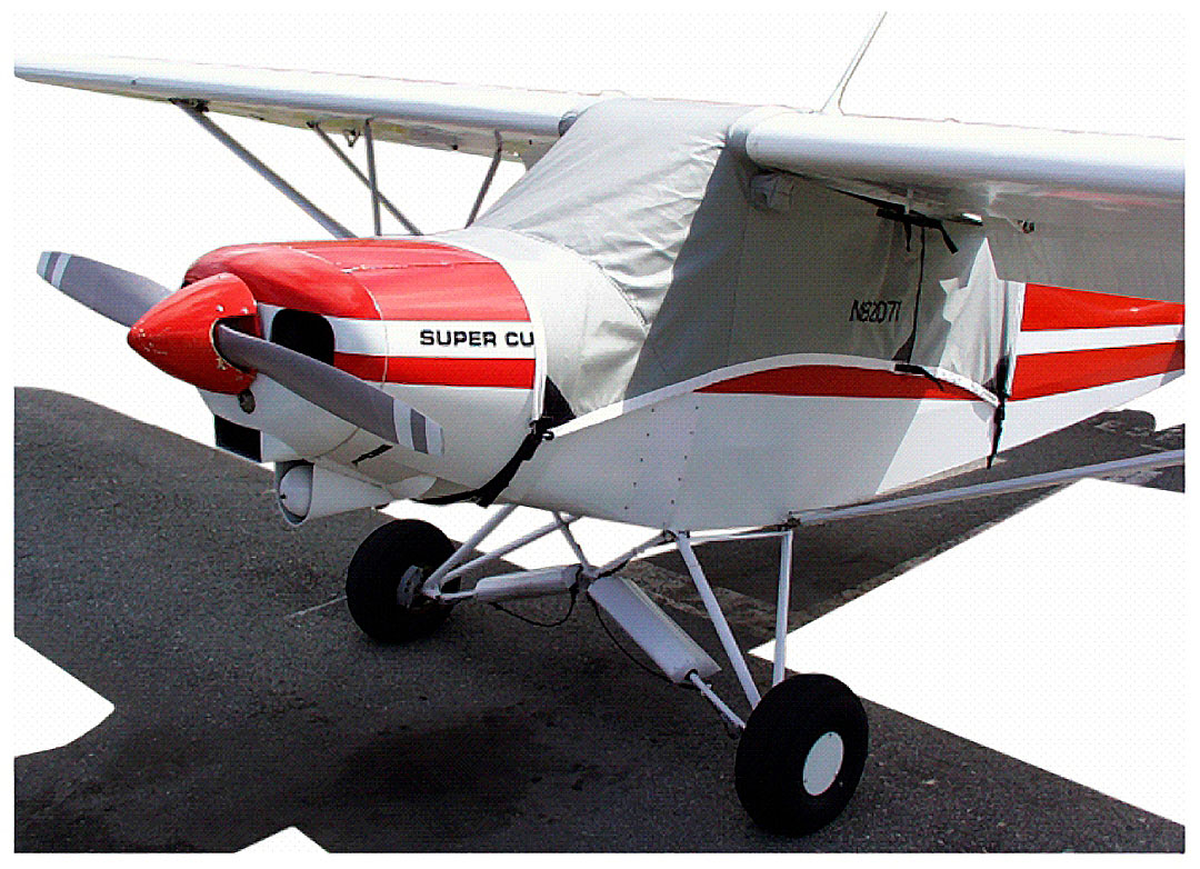 Covers & Plugs for the CubCrafters Top Cub (Super Cub shown)