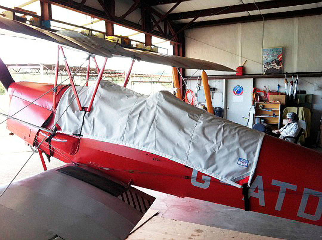 Canopy Cover for the De Havilland Tiger Moth