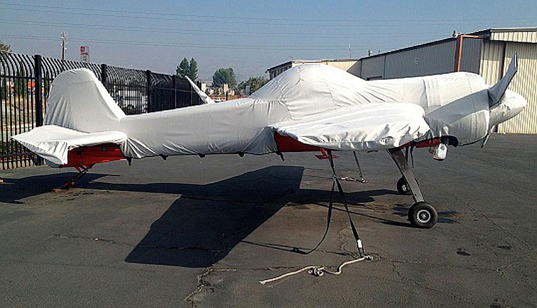 Yak 55 Full Fuselage Cover w/ Detachable Wing Covers & Propellor/Spinner Cover