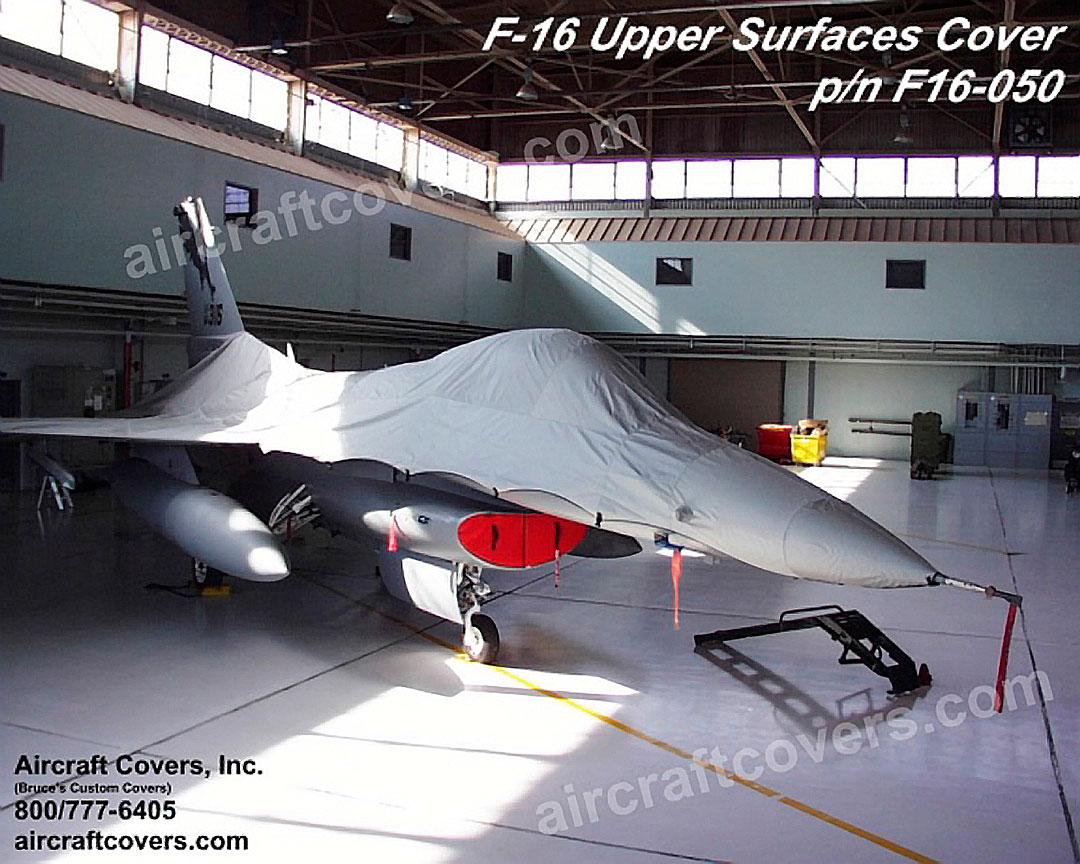 F-16  Blackout  type Canopy Cover & General Dynamics F-16 Fighting Falcon: Covers Plugs etc.