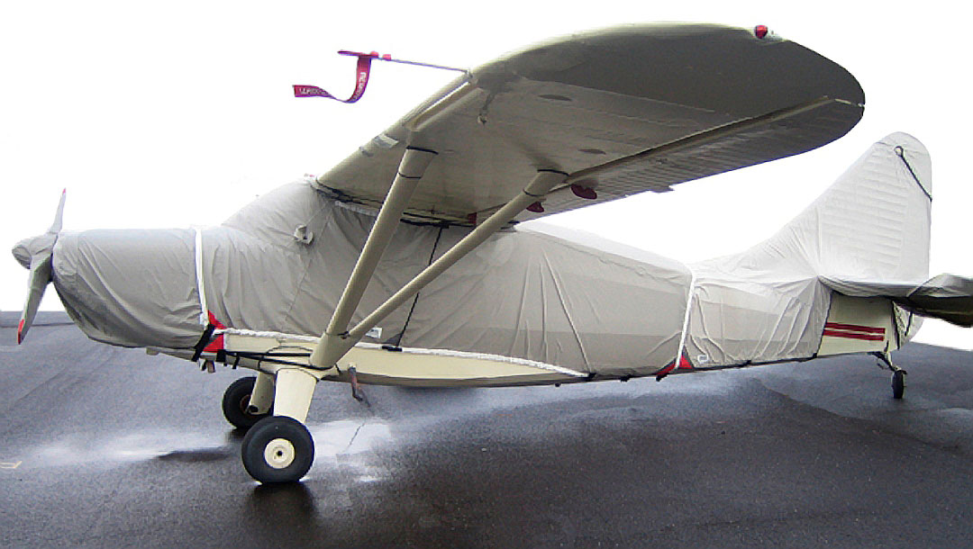 Stinson 108 Canopy, Engine, Prop & Empennage Covers