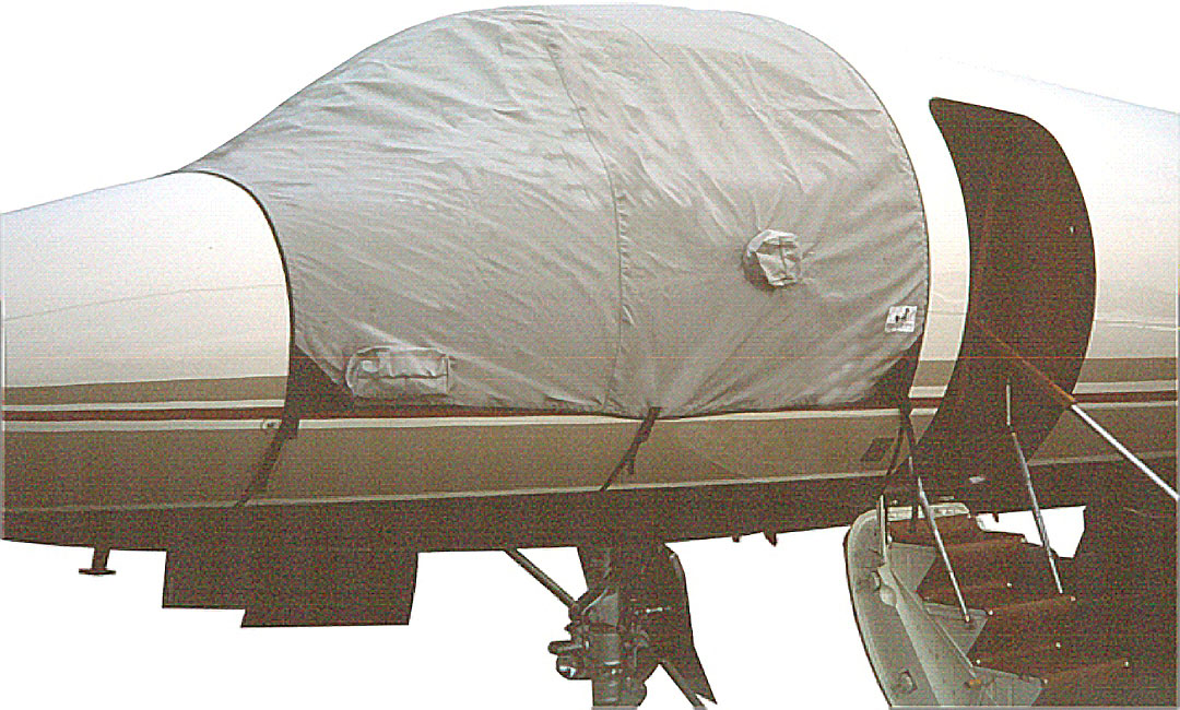 Windshield Cover (shown on Falcon 50)