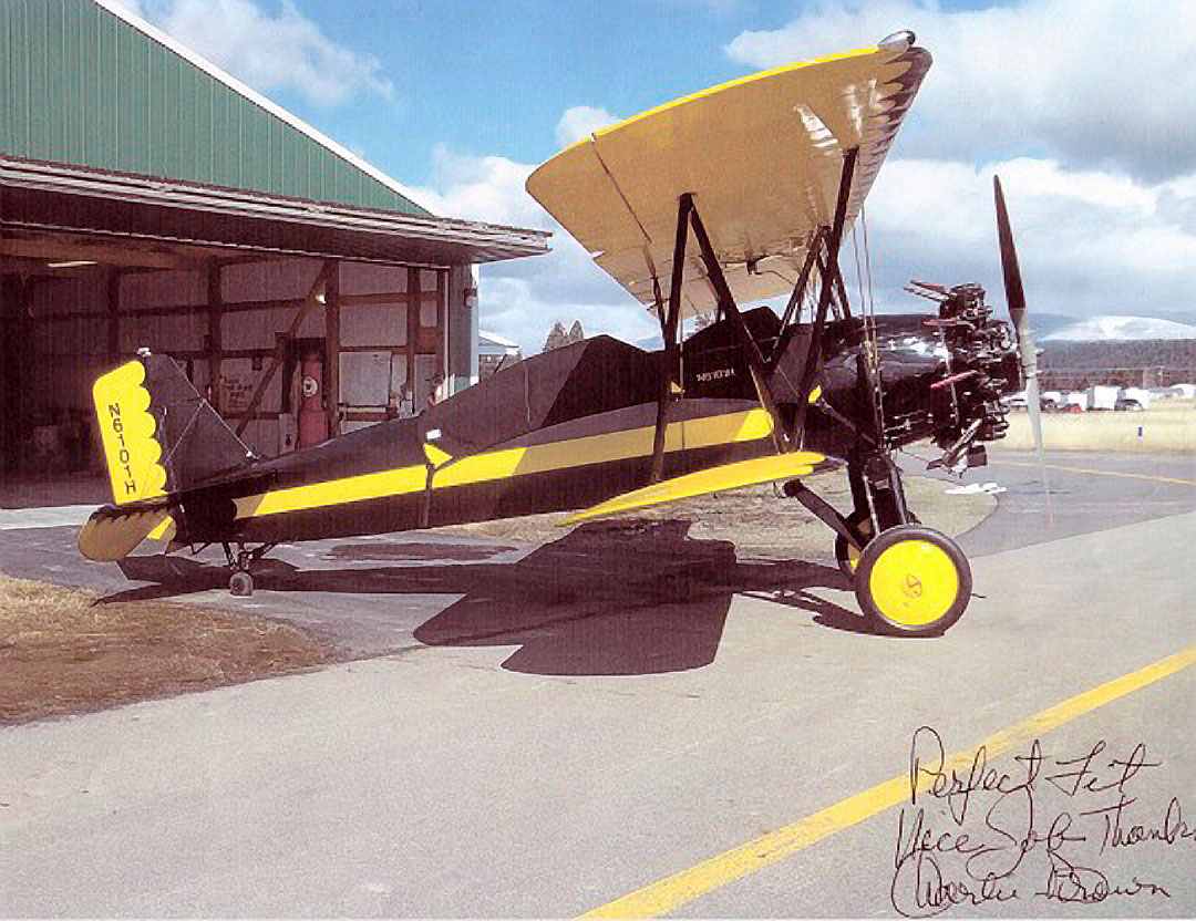 Stearman C3 Canopy Cover