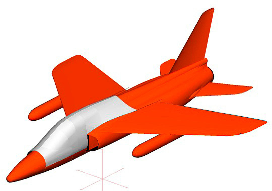 Folland Gnat Canopy Cover (3D model)