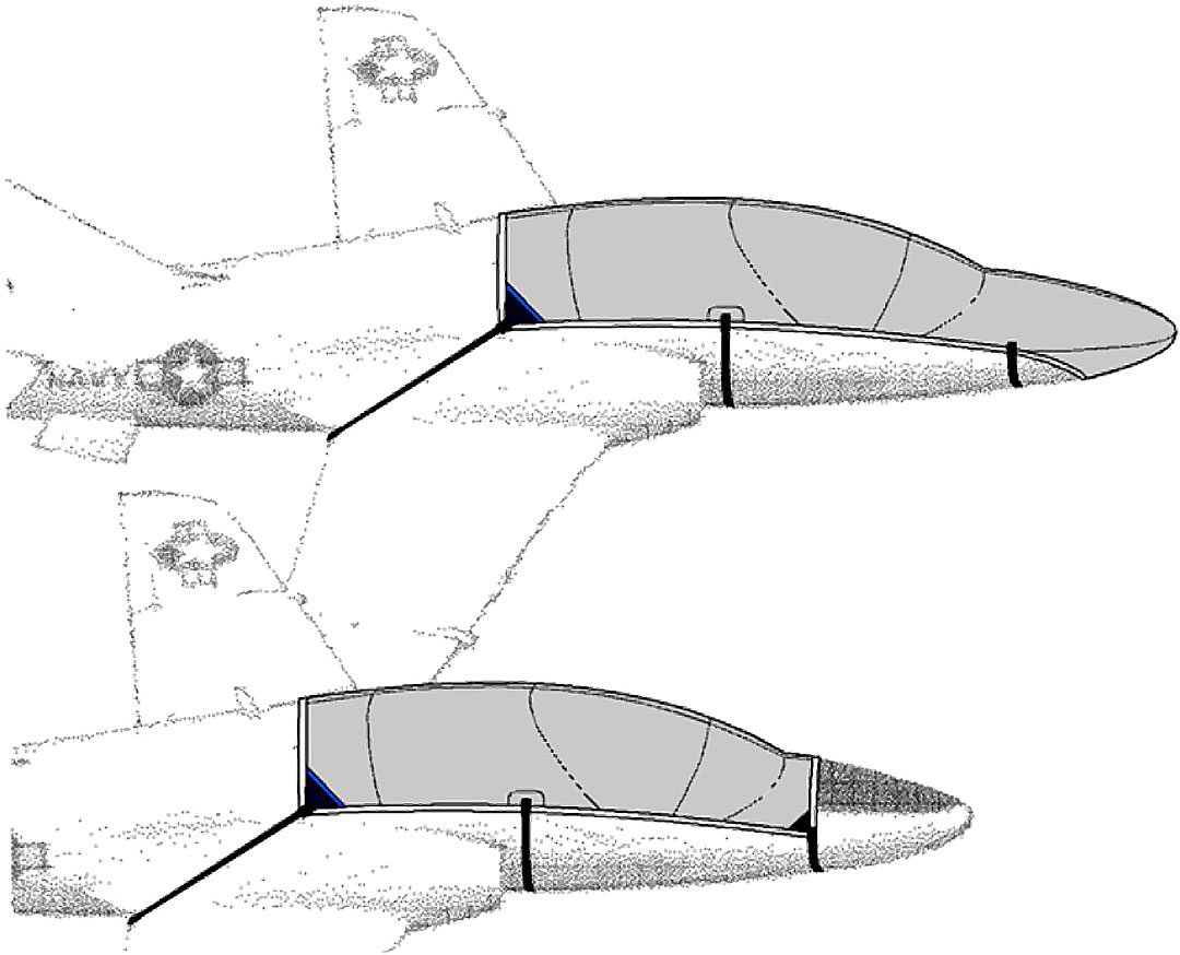 Hawk 200 Canopy & Canopy/Nose Covers