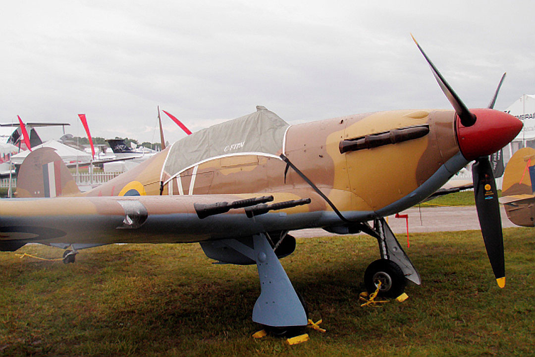 Canopy Cover (Shown on Hawker Hurricane )