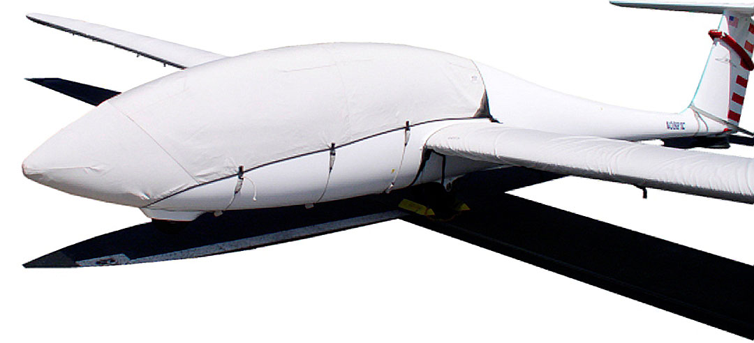 Grob 103 Canopy/Nose Cover and Wing Covers