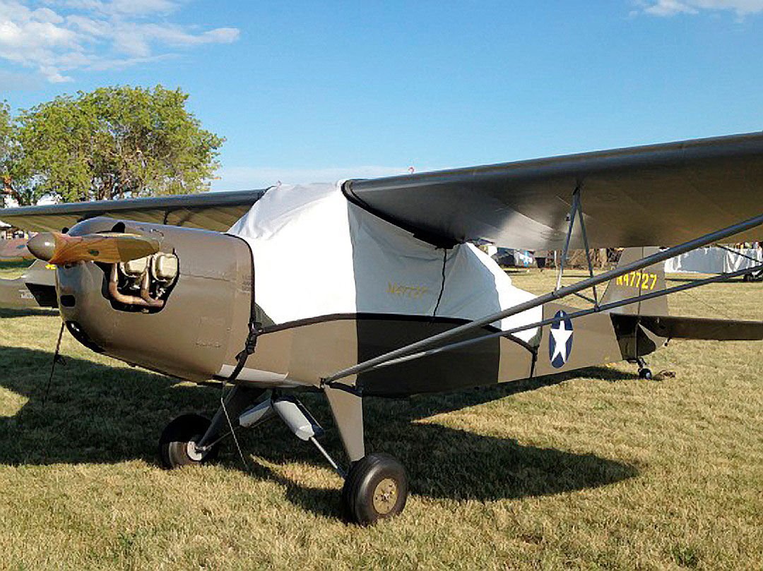 Taylorcraft L-2 Canopy Cover