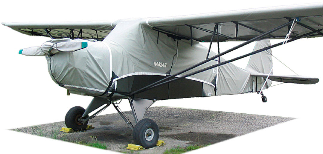 Prop Cover, Engine Cover, Canopy Cover, Wing Covers and Empennage Cover