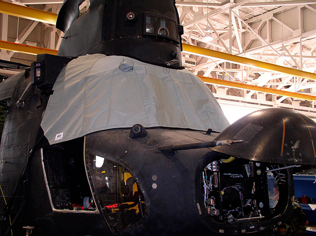 Boeing Vertol CH-47 Windshield/Cockpit Cover