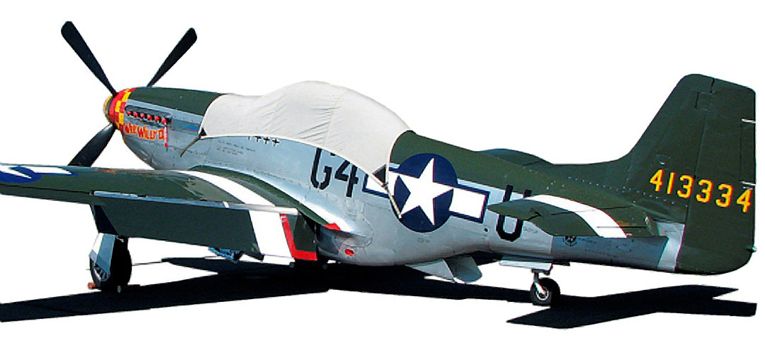 P51 Canopy Cover & Exhaust Plugs