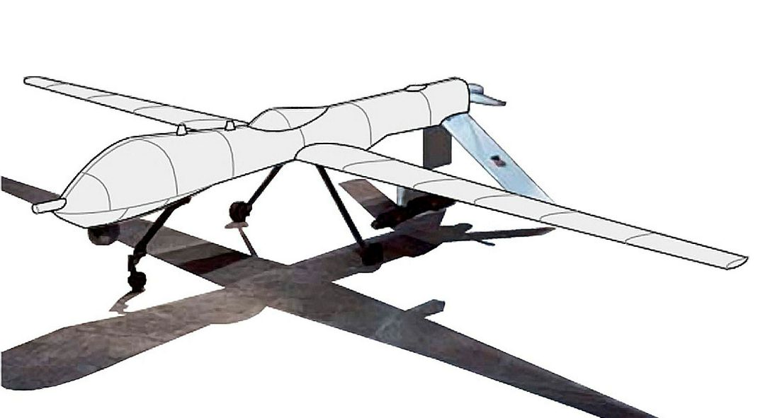 Fuselage and Wing Covers for the MQ1 Predator (illustration)