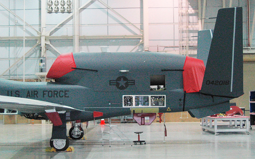 Global Hawk Intake & Exhaust Covers