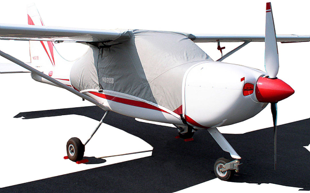 Glastar Over-Top Canopy Cover  sc 1 st  Bruceu0027s Custom Covers & Rans S-20 Raven: Covers Plugs Sun Shades u0026 more