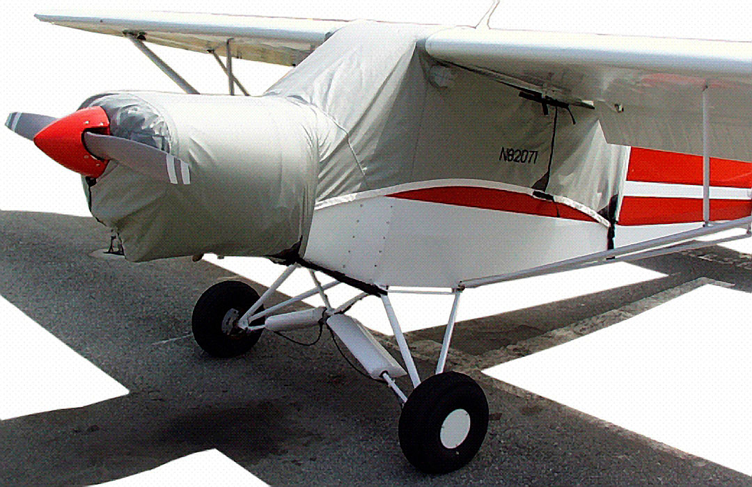 Canopy & Engine Covers (Supercub shown)