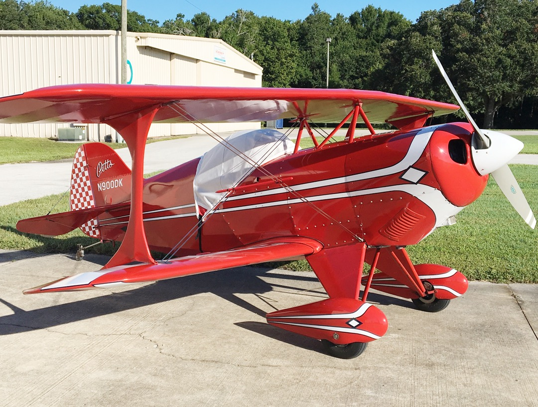 Pitts S1 Canopy Cover