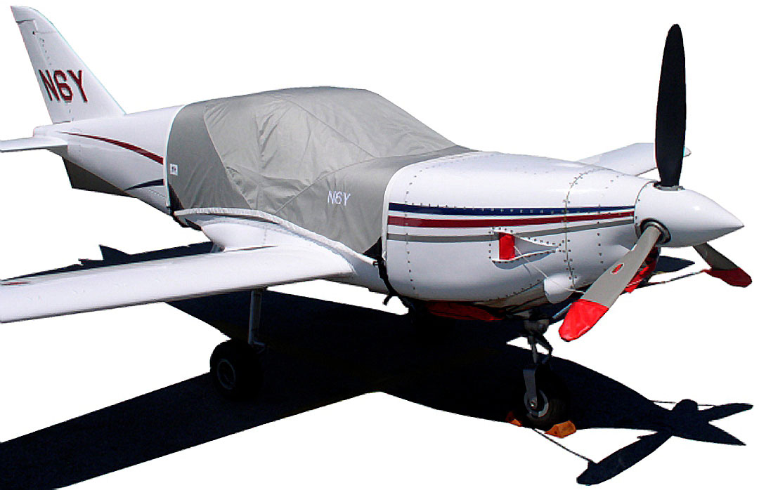 The Sweringen SX300 Canopy Cover, Engine Plugs & Prop Ties