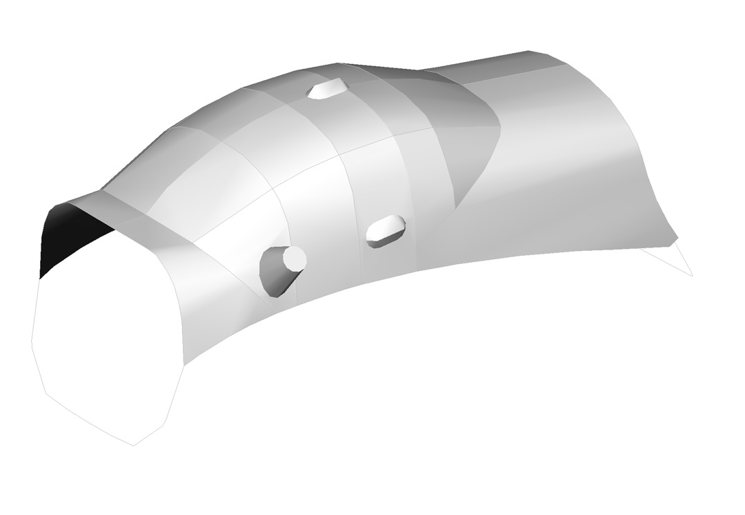 Scheibe SF25 Canopy Cover, 3D model