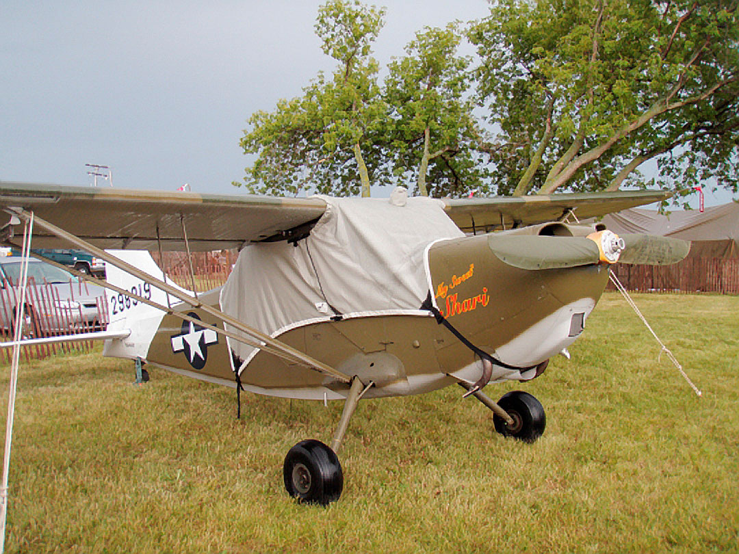 Stinson L-5 Canopy Cover