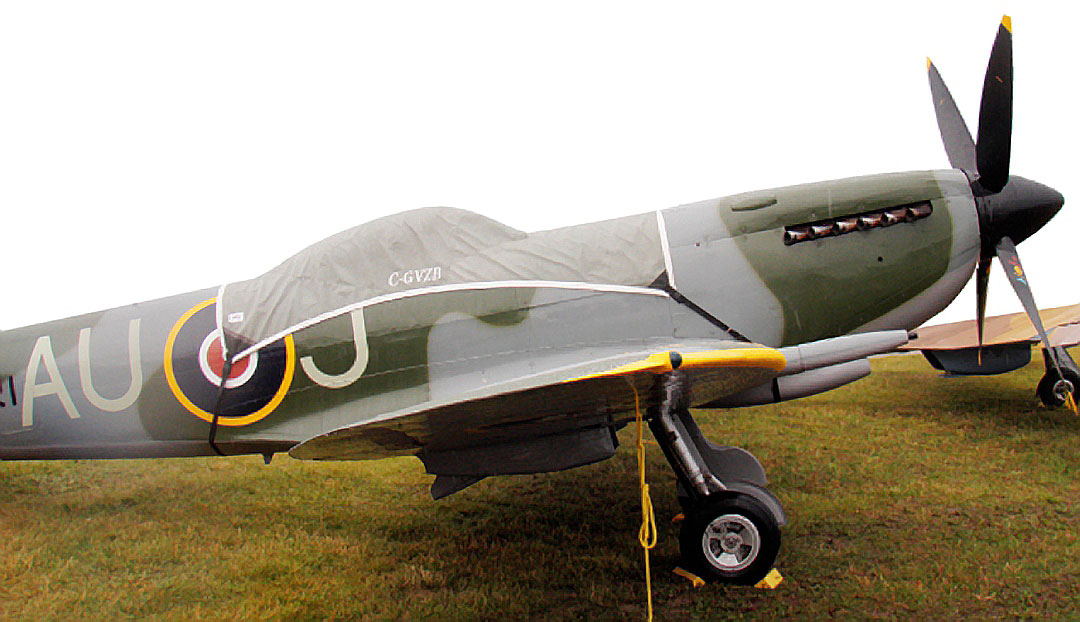 Supermarine Spitfire Mark 16 Canopy Cover