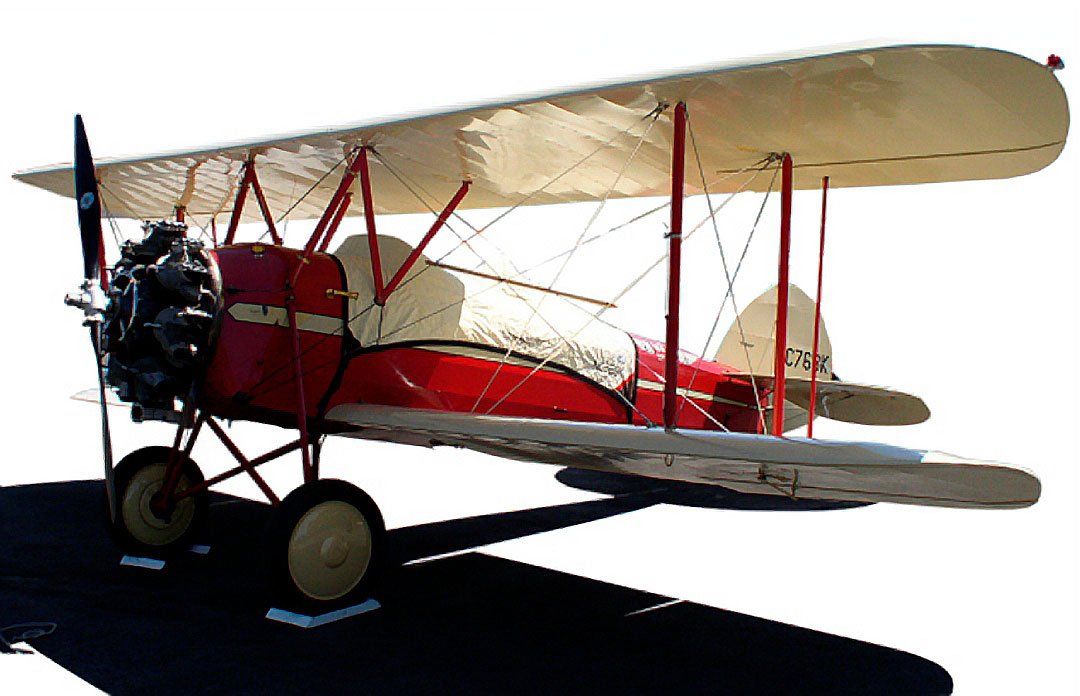 The Waco Canopy Cover (Shown on a Waco 10), front view