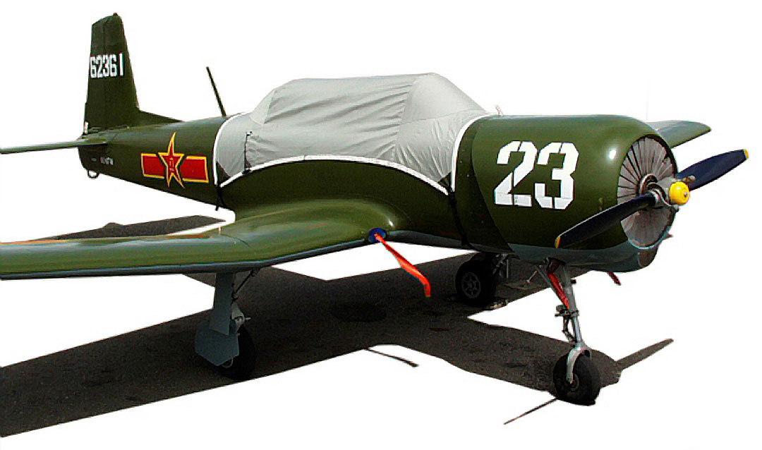 CJ-6 Nanchang Canopy Cover
