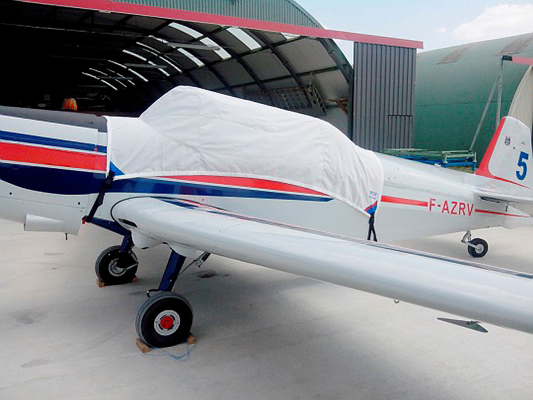 Zlin 526 Canopy Cover