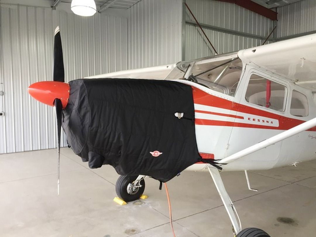 Cessna 170: Covers, Plugs, Sun Shades, & more