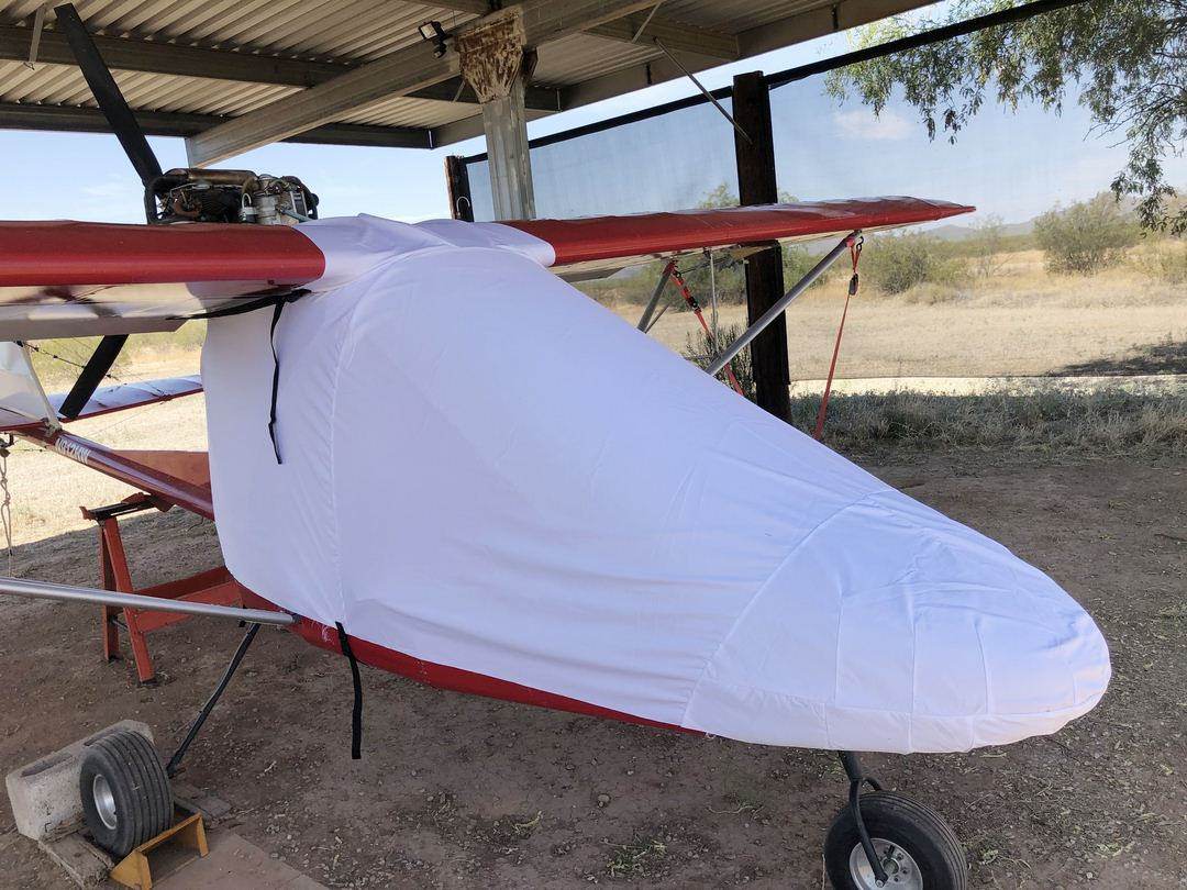 Rans S-12 Airaile Canopy/Nose Cover (test fit cover)
