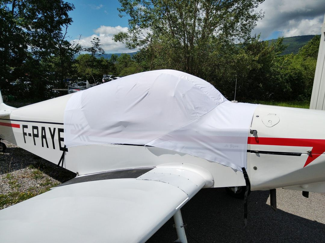 Jodel D113V Canopy Cover, test fit cover
