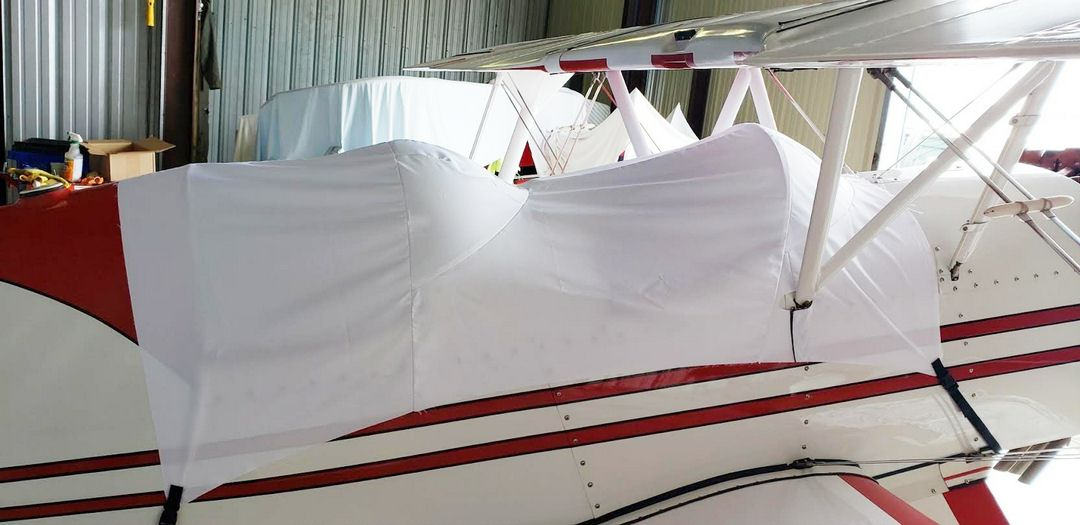 Acro Sport 2 Canopy Cover, test fit cover