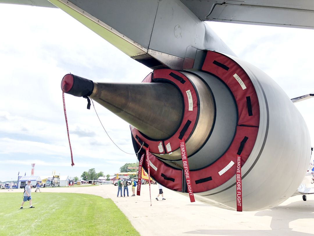 Boeing KC-135 Bypass and Exhaust Plugs