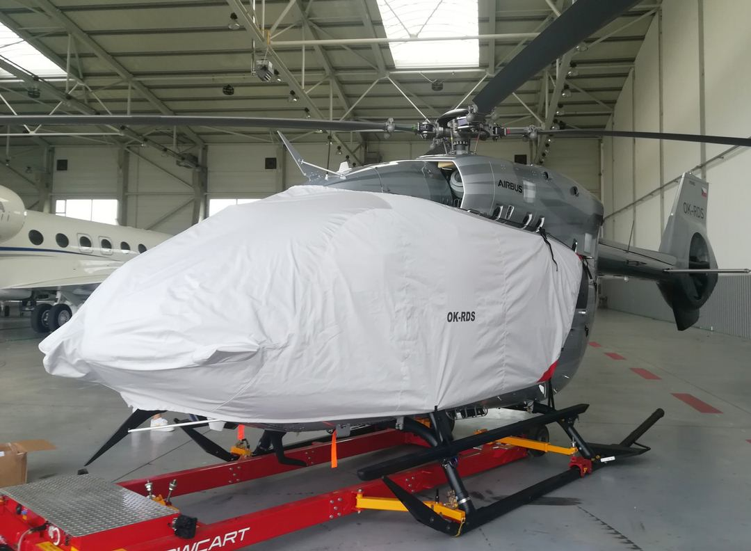 Airbus Helicopter EC-145 Bubble Cover with Radome & Wire Strike