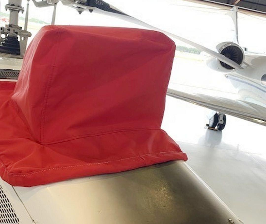 Bell 407 Exhaust Stack/Exhaust Gap Cover (weighted)