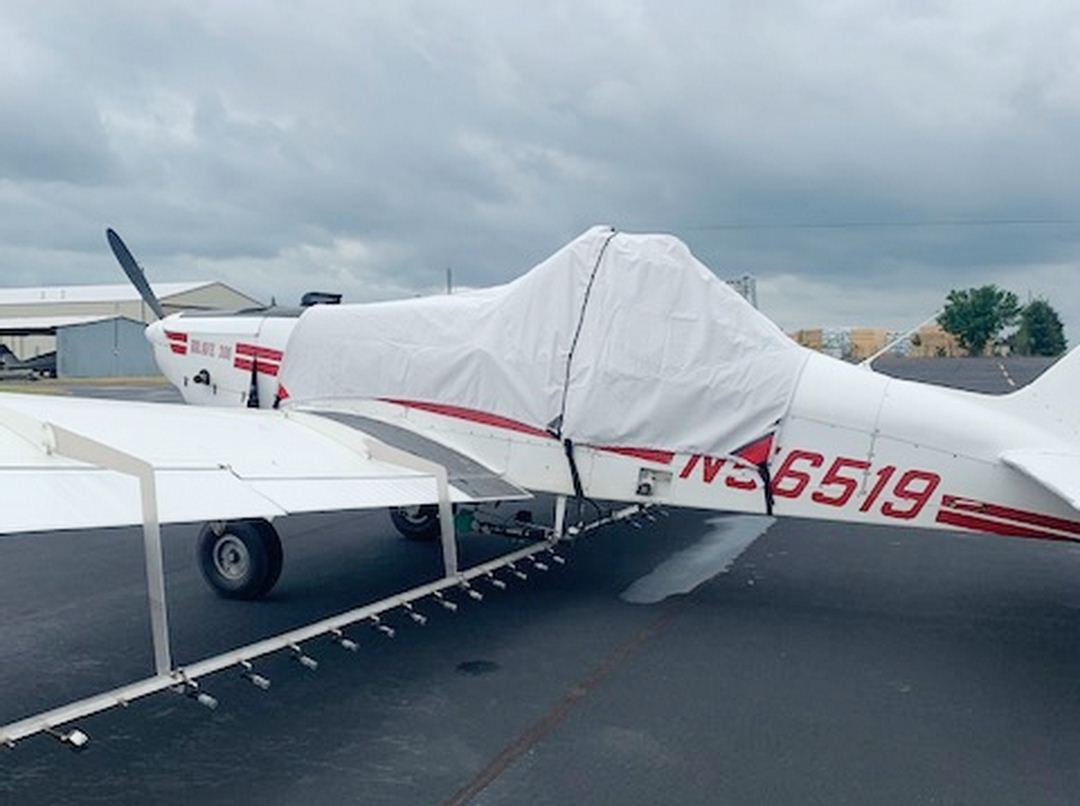 Piper Brave PA-36 Canopy/Hopper Cover