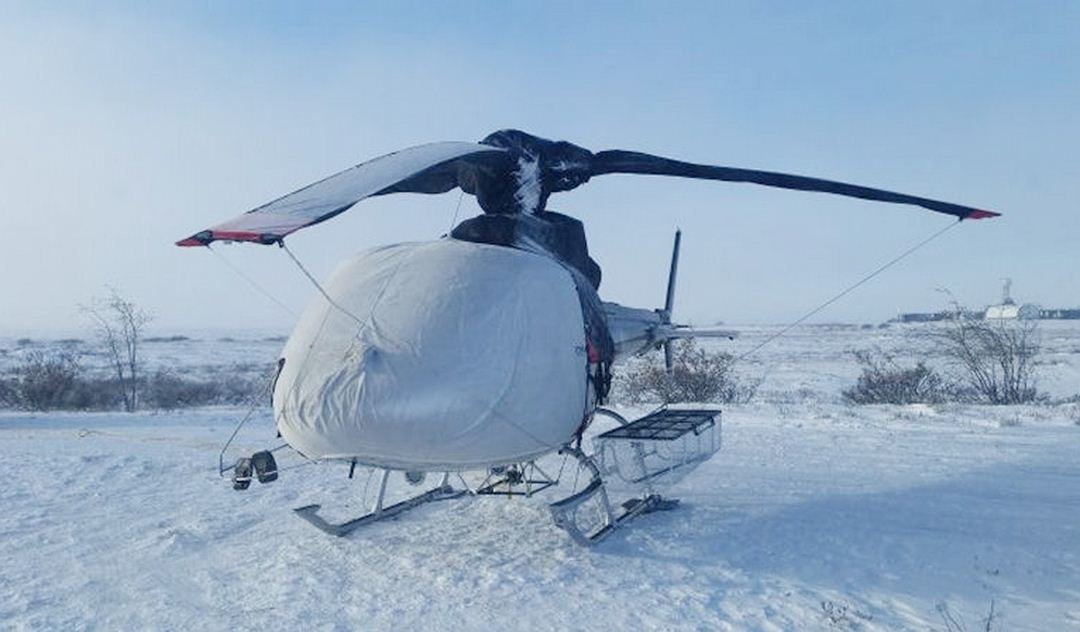 Airbus Helicopter AS350 Bubble Cover, Blade Tie-Downs, Blade Covers & Rotor Head Cover