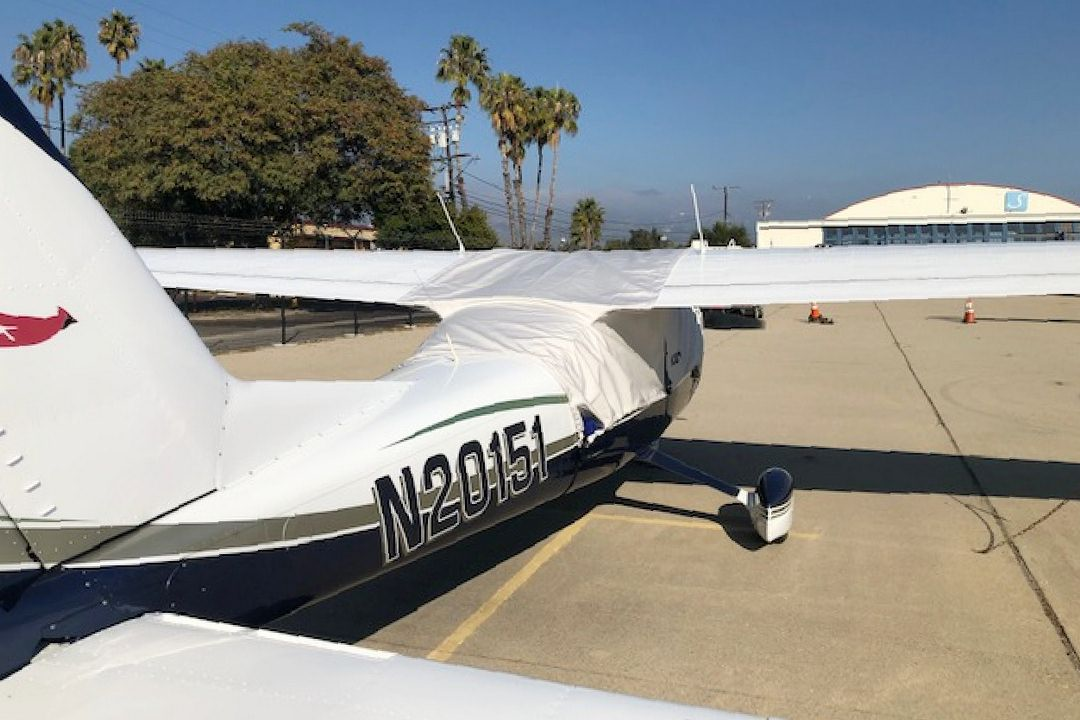 Cessna 177 Cardinal Canopy Cover, over-top type