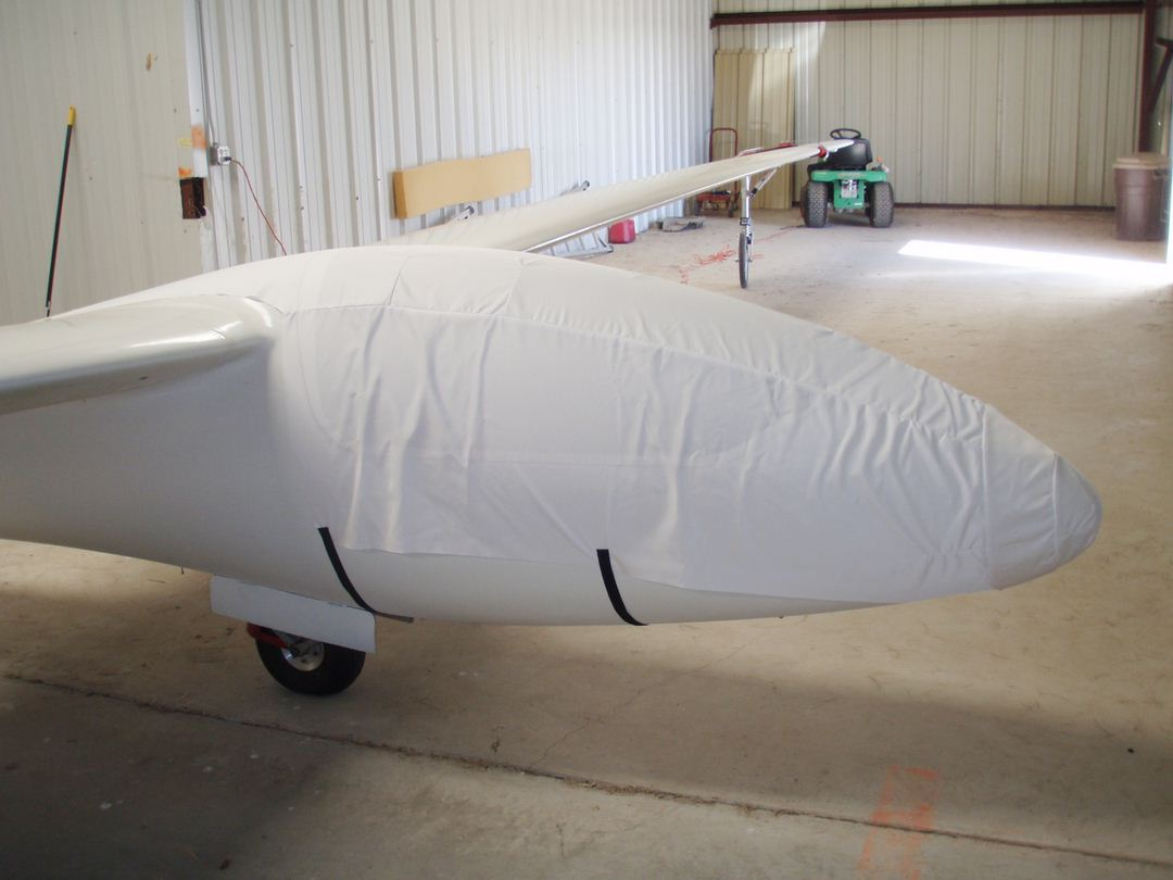 Bolkow Phoebus C-1 Canopy/Nose Cover, test fit cover