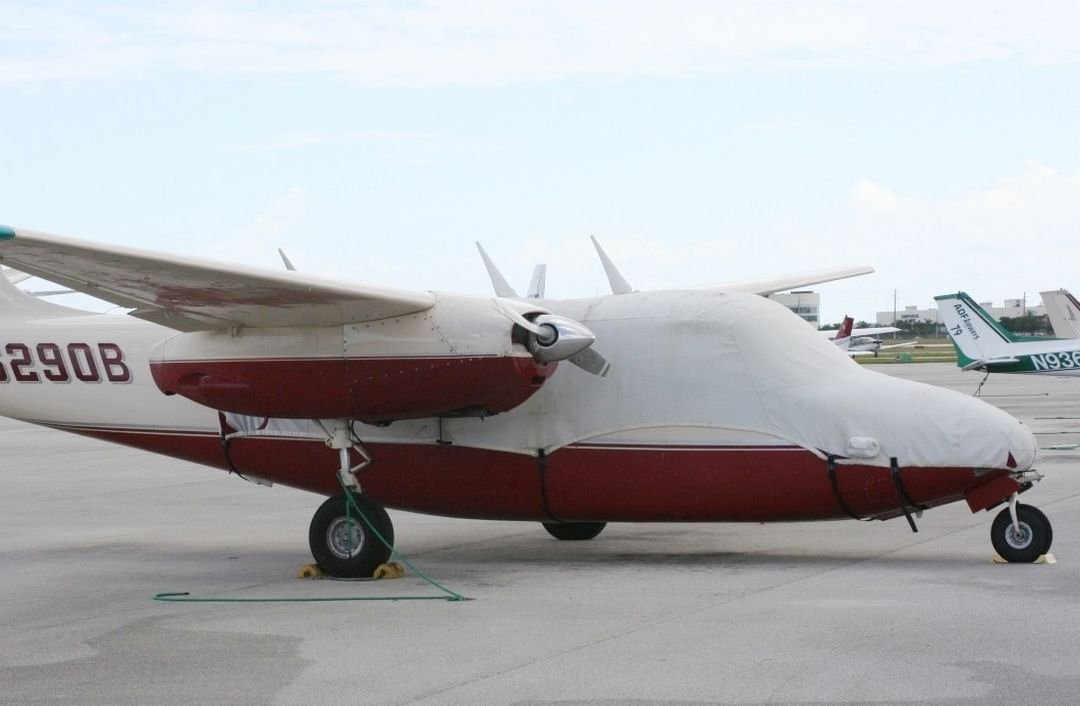 Aero Commander 500 Canopy/Nose Cover Over The Type