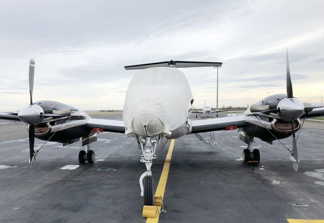 King Air 200 Canopy/Nose Cover