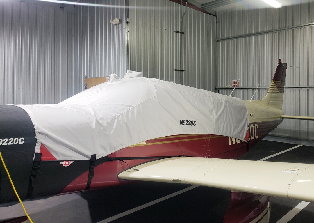 Piper PA32-300 Canopy Cover w/fwd bib to cover baggage door